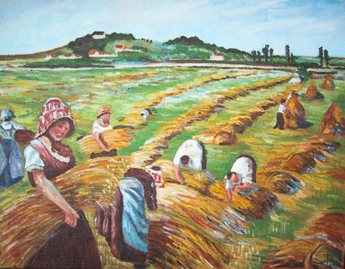 ピサロ-収穫