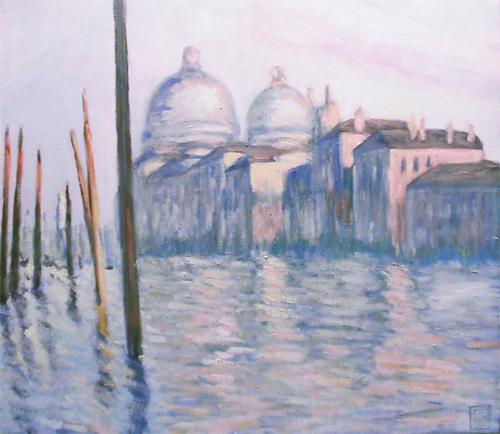 モネ-大運河、ヴェネツィア