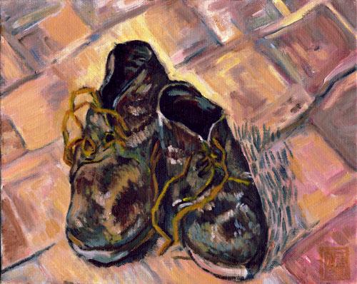 ゴッホ-靴