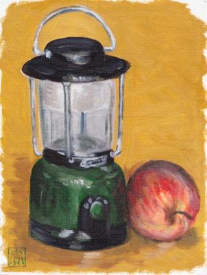 オリジナル-リンゴとランタン