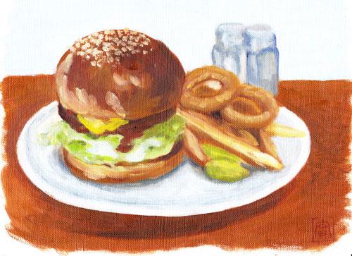 オリジナル-ハンバーガー