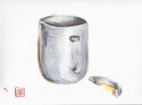 オリジナル-壊れたマグカップ
